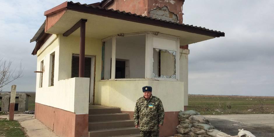 A Tchongar, Ukraine et Crimée se regardent en chiens de faïence - La Libre