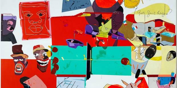 Une autobiographie picturale pop et politique - La Libre