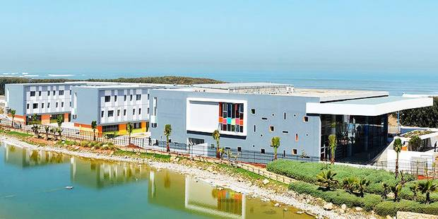 Une école belge à Rabat en 2018 - La Libre