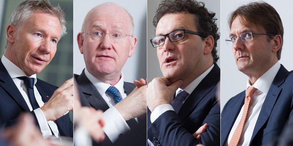 Coût des services bancaires, régulation, nouveaux acteurs... Les patrons des grandes banques belges sur le gril - La Lib...