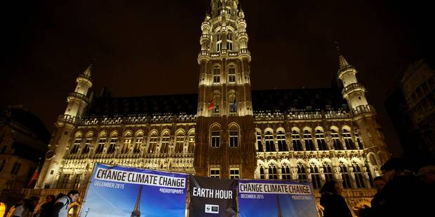 """""""Une heure pour la planète"""" : de célèbres bâtiments éteignent les lumières (PHOTOS) - La Libre"""