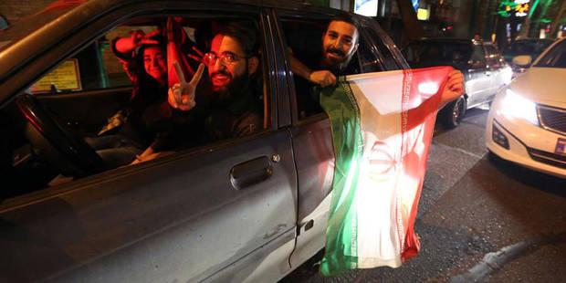 """Nucléaire: accord """"historique"""" selon Obama, scènes de liesse à Téhéran (PHOTOS) - La Libre"""