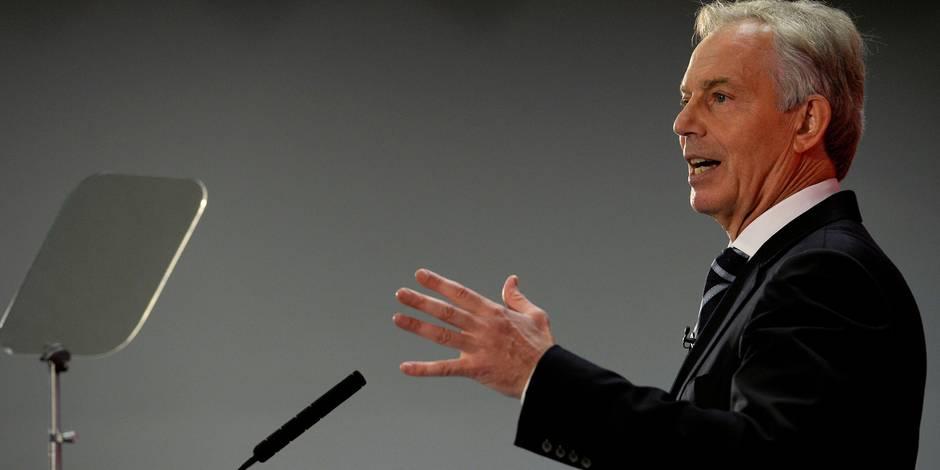 Tony Blair en promoteur de l'Europe - La Libre