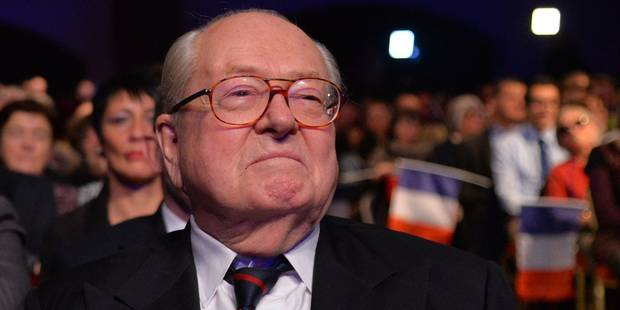 """Une gestion """"ridicule"""": Quand Jean-Marie Le Pen critique les choix de sa fille, Marine - La Libre"""