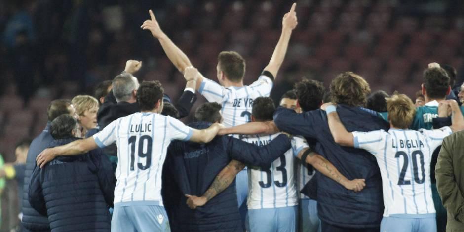 Belges à l'étranger: Mertens et Naples chutent face à la Lazio en Coupe
