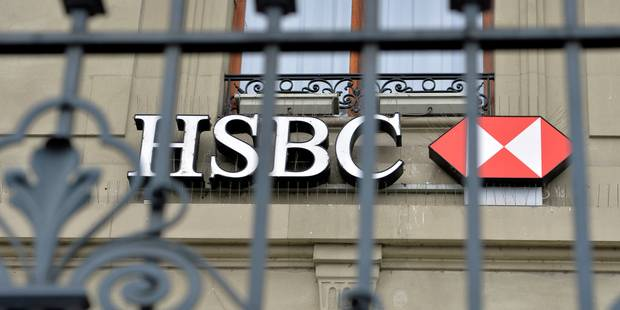 Fraude fiscale: la holding de HSBC mise en examen, caution d'1 milliard d'euros - La Libre