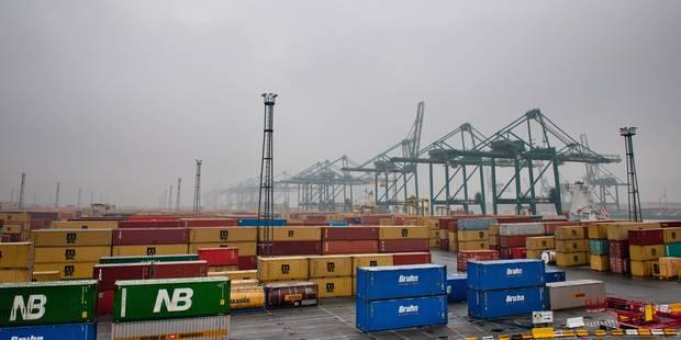 Les exportations belges perdent du terrain au niveau mondial - La Libre