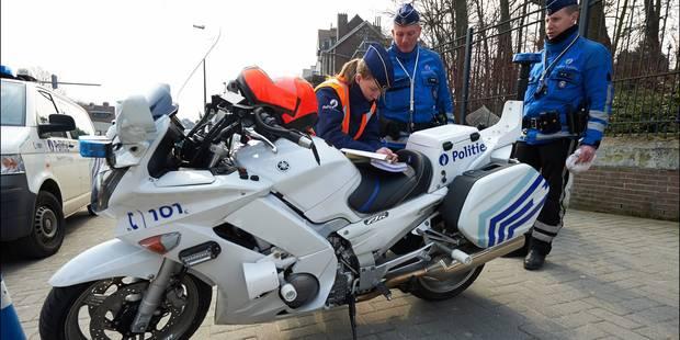 Plus de 850 véhicules flashés samedi à Bruxelles - La Libre