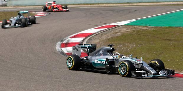 Lewis Hamilton remporte le GP de Chine - La Libre