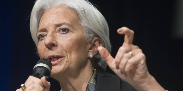 Zone euro: la croissance revue à la hausse par le FMI pour 2015 et 2016 - La Libre