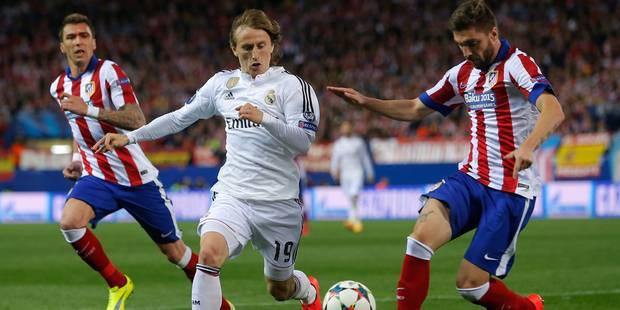Champions League: l'Atlético et le Real se neutralisent - La Libre
