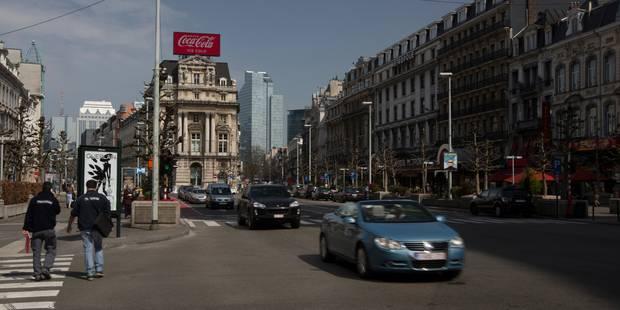 Une grande partie des boulevards du centre de Bruxelles bientôt sans voitures - La Libre