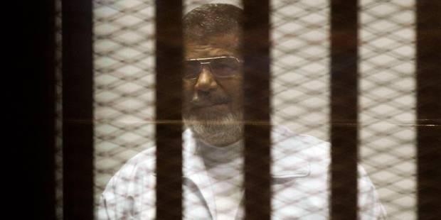 Egypte: Morsi condamné à 20 ans de prison - La Libre