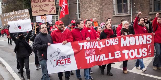 Grèves en Wallonie: la FGTB sans concession avec le PS - La Libre