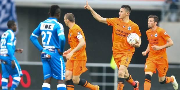 Le Club Bruges remonte deux buts face à Gand (2-2) - La Libre