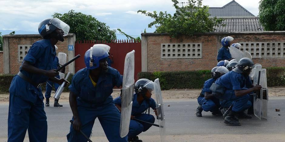 Édito: Il faut réagir maintenant au Burundi - La Libre