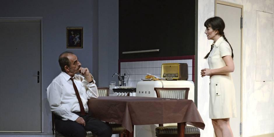 Romane et Richard Bohringer réunis sur scène - La Libre