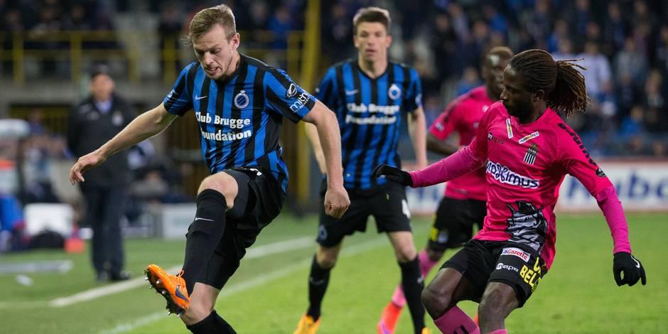 Bruges s'impose contre Charleroi (3-1)