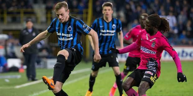 Bruges s'impose contre Charleroi (3-1) - La Libre