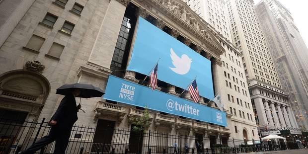L'action Twitter plonge après l'annonce d'un chiffre d'affaires décevant - La Libre
