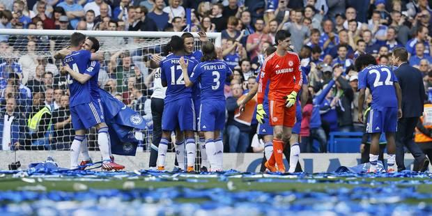Hazard et Courtois champions d'Angleterre avec Chelsea ! (VIDEO) - La Libre