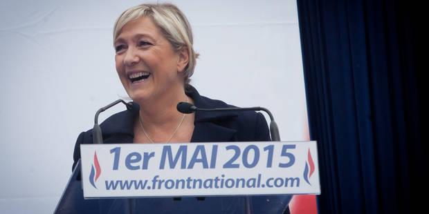 Marine Le Pen pompe son discours du 1er mai sur un texte de sa nièce - La Libre