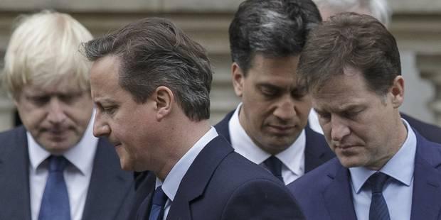 Grande-Bretagne: David Cameron reconduit ses ministres clés - La Libre