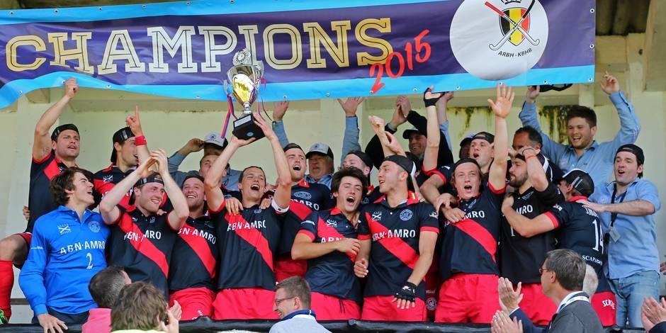 Hockey : le Dragons devient champion de Belgique - La Libre