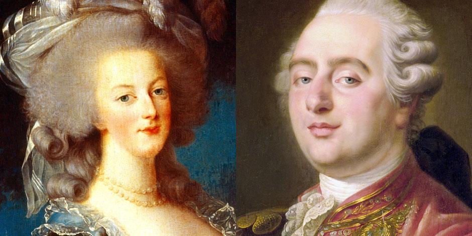 Louis XVI et Marie-Antoinette, encore