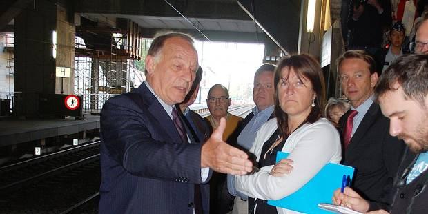 """Jacqueline Galant: """"La gare de Rixensart est superdangereuse"""" - La Libre"""