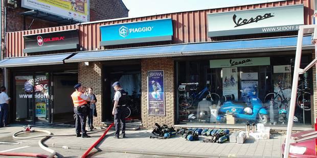 Incendie chez Seidoff à Jambes : 2 employés et 2 pompiers blessés - La Libre