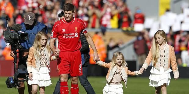 Liverpool dit adieu à Steven Gerrard - La Libre