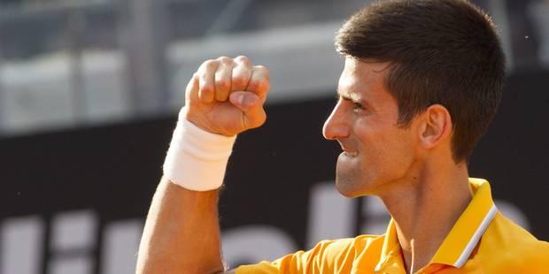 Djokovic pour la 4e fois vainqueur à Rome - La Libre