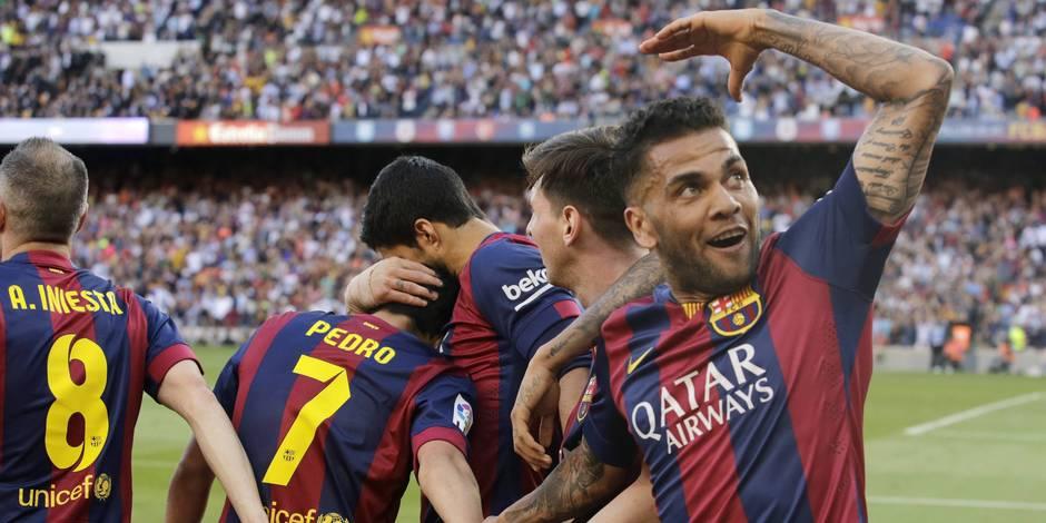 Le Barça est champion d'Espagne pour la 23e fois