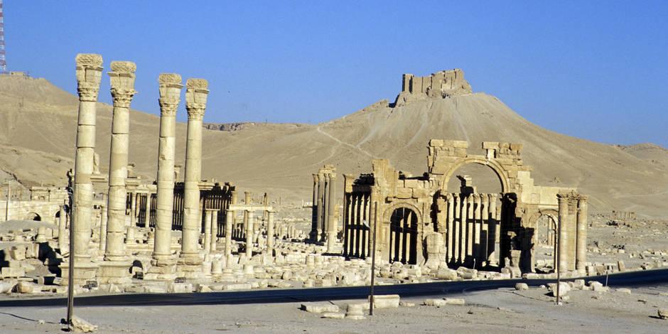 L'Etat islamique s'empare du nord de Palmyre
