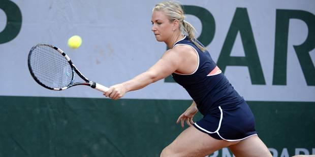 Roland-Garros: Ysaline Bonaventure éliminée au premier tour des qualifications - La Libre