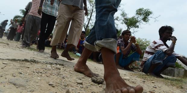 Birmanie: les 40 jours d'enfer d'un couple de migrants Rohingyas - La Libre