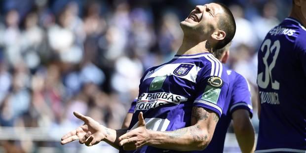 Anderlecht bat le champion, mais reste troisième (2-1) - La Libre