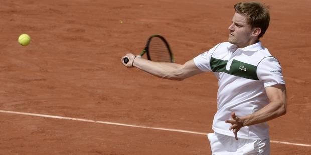Roland Garros: Goffin qualifié, Wickmayer, Darcis et Bemelmans éliminés - La Libre