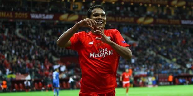 Bacca offre l'Europa League à Séville (3-2) - La Libre