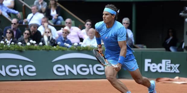 Polémique à Roland Garros: Rafael Nadal refuse un arbitre - La Libre