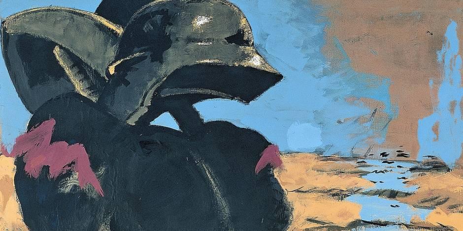 Markus Lüpertz, la peinture dithyrambique - La Libre