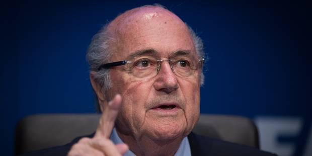 Plusieurs responsables interrogés par la justice suisse, Blatter pourra l'être lui aussi - La Libre