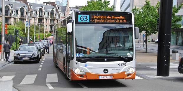 """A Bruxelles, """"le piétonnier va dégrader la desserte des bus"""" - La Libre"""