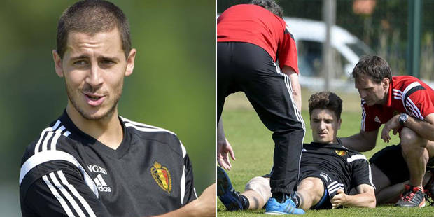 Diables rouges: Hazard est bien arrivé, déchirure du tendon du genou pour Meunier - La Libre