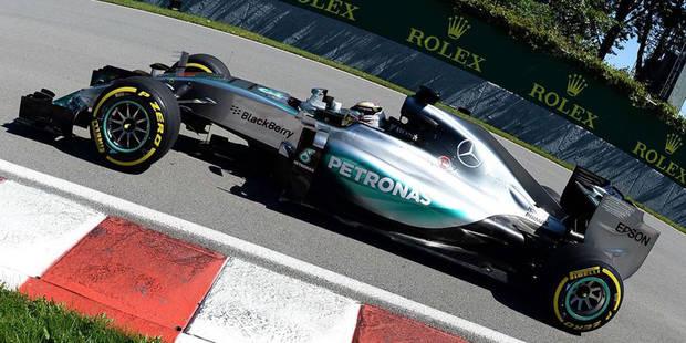 GP du Canada: la pole pour Hamilton - La Libre
