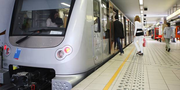 Circulation du métro interrompue entre Delta et Herrmann-Debroux ce week-end - La Libre