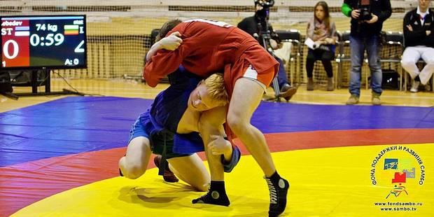 Le sambo, cette discipline inédite des Jeux européens de Bakou - La Libre