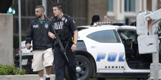 Etats-Unis : un homme abattu après un assaut sur le quartier général de la police à Dallas - La Libre