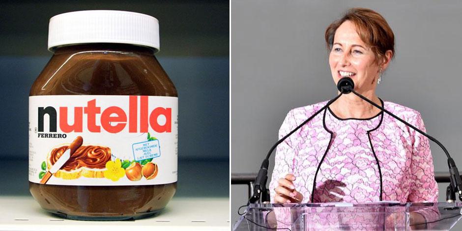 France: Ségolène Royal s'en prend au Nutella, ennemi des forêts